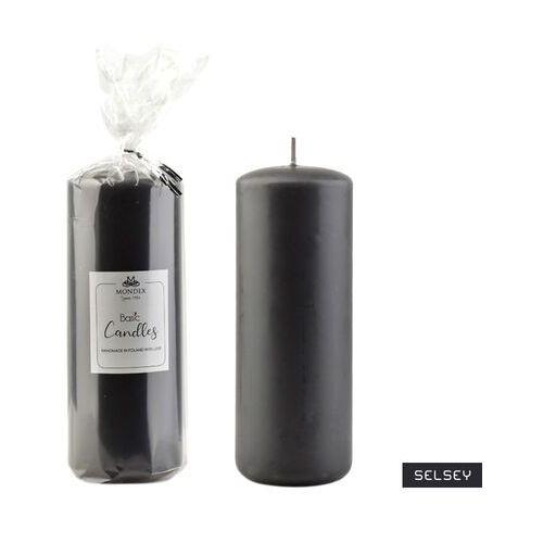 Selsey świeca parafinowa blaile 7x19 cm popiel półmatowy (5903025625522)