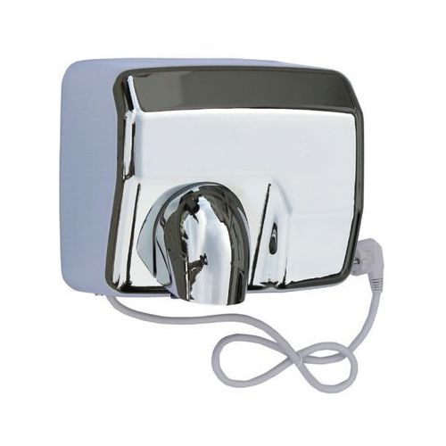 Elektryczna suszarka do rąk starflow - obudowa metalowa, stal polerowana marki Merida