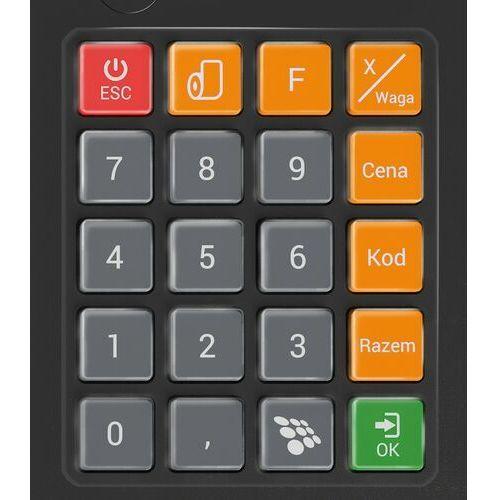 Novitus Gumowa pokrywa mechanicznej klawiatury kasy next gumowa nakładka na klawiaturę mechniczna kasy next. dodatkowo zabezpiecza klawiature kasy przed zabrudzeniem, zawilgoceniem czy zalaniem. nakładka przyklejana jest na obudowę kasy