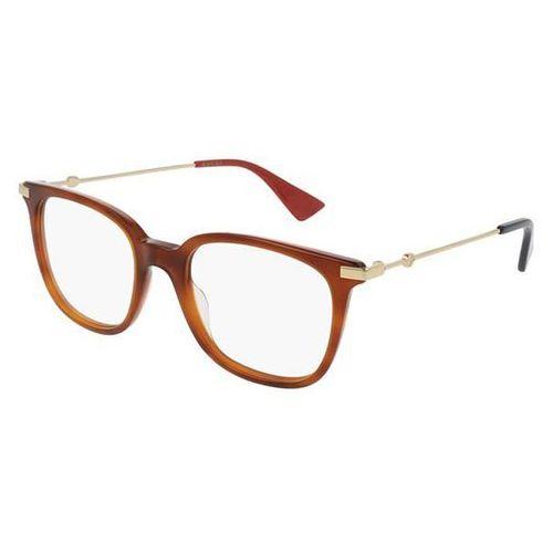 Gucci Okulary korekcyjne gg0110o 003