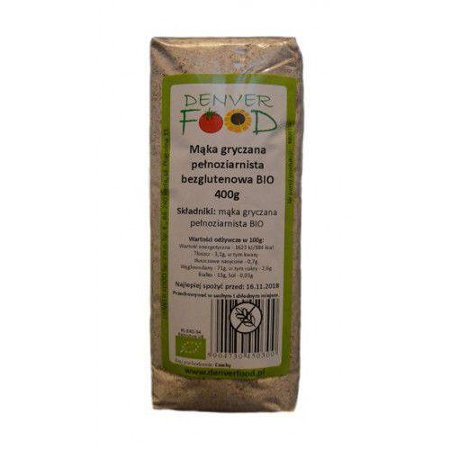 mąka gryczana pełnoziarnista bezglutenowa bio 400g marki Denver food