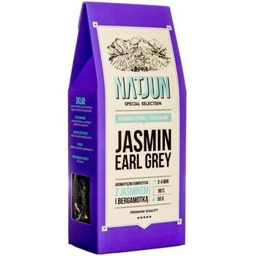 herbata czarna jasmin earl grey' 50g marki Natjun