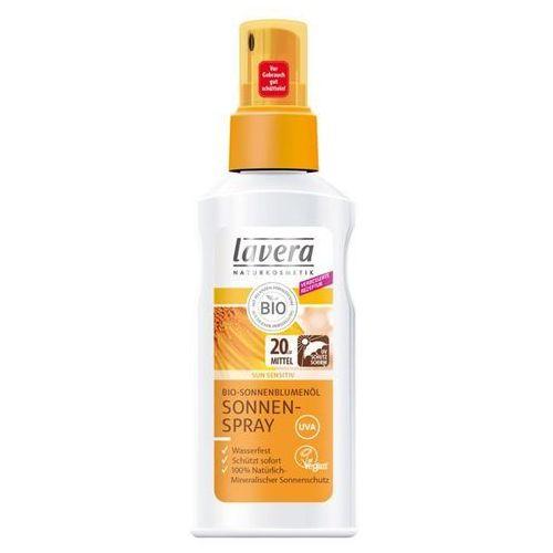 Lavera Sun sensitiv spray na słońce lsf 20 z bio-olejem słonecznikowym
