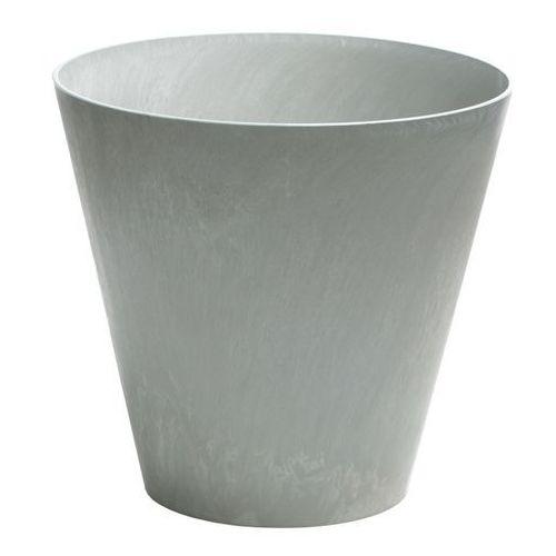 Doniczka Tubus Beton Prosperplast : Średnica - 250 mm, Kolor - Beton (5905197896625)