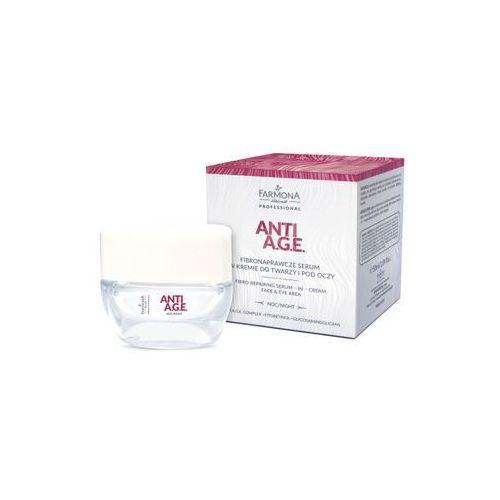 Anti a.g.e. fibronaprawcze serum w kremie do twarzy i pod oczy 50ml marki Farmona professional