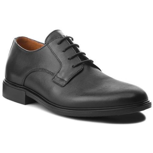 c1e76c6f3ec71 Półbuty TOMMY HILFIGER - Color Block Heel Leather Shoe FM0FM01616 Black  990, kolor czarny
