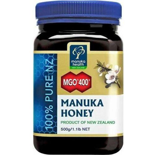 Miód manuka mgo 400+ 500g marki Manuka health new zealand limited