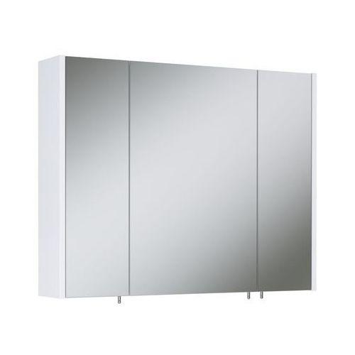 Szafka lustrzana TECHNO 800 3 WHITE