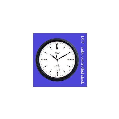Zegar ścienny jowisz sterowany DCF