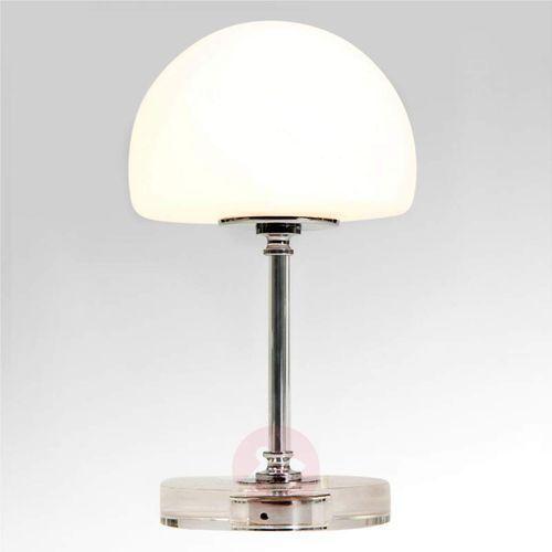 Steinhauer ancilla lampa stołowa biały, 1-punktowy - nowoczesny - obszar wewnętrzny - ancilla - czas dostawy: od 6-10 dni roboczych (8712746114348)