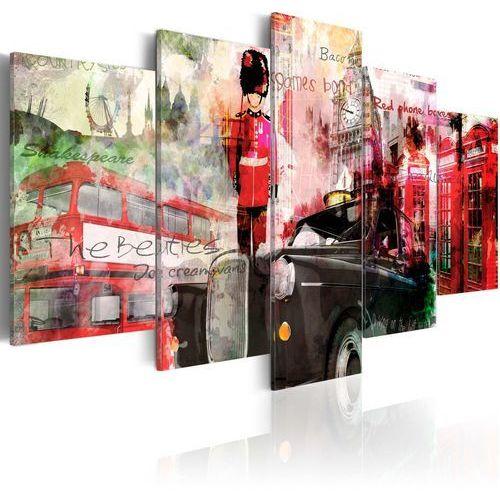 Obraz - wspomnienia z londynu - 5 części marki Artgeist