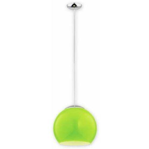 nolab o2841 w1 ch + zie [d] lampa wisząca zwis 1x60w e27 chrom+zielony marki Lemir