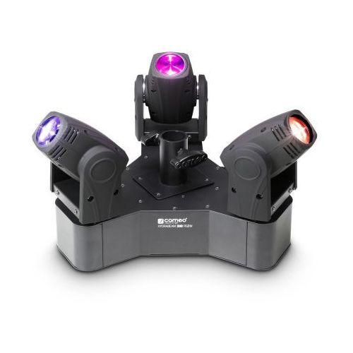 Cameo CLHB300RGBW HYDRABEAM 300 W - 3 ruchome głowice Beam LED RGBW 10W na jednym cokole