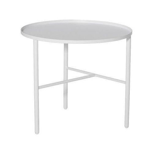 Metalowy stolik kawowy s, biały -  marki Bloomingville
