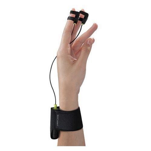 SexShop - Stymulator na palce - Jimmyjane Hello Touch Finger Vibrator X Black - online - produkt z kategorii- Wibratory