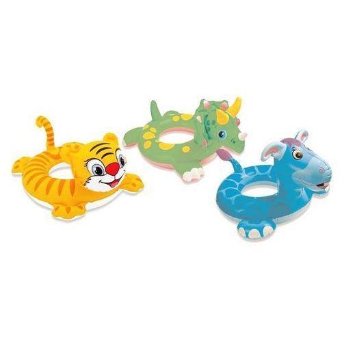 INTEX Koło do pływania, zwierzątka 3 wz. (58221) - produkt z kategorii- Sprzęt wodny dla dzieci