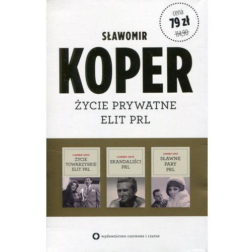 Życie towarzyskie elit PRL / Sławne pary PRL / Skandaliści PRL Pakiet (9788377001714)