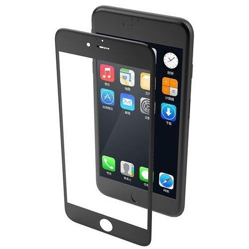 revel clear - hartowane szkło ochronne 9h na cały ekran iphone 8 / 7 (czarna ramka) marki X-doria
