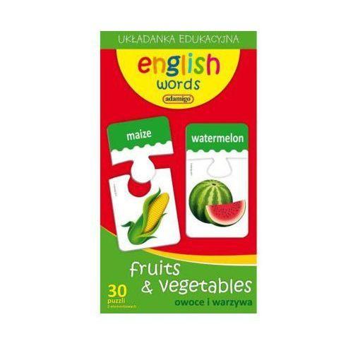 ADAMIGO Zest. Edukacyjny Owoce i Warzywa angielski