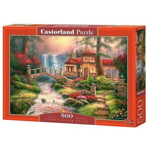 Puzzle 500 Sierra River Falls CASTOR, AM_5904438052202