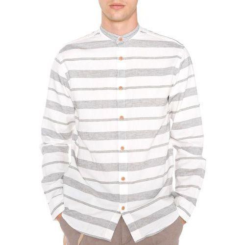 springfield koszula biały szary l marki Jack & jones