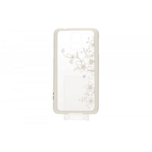 TB Etui Samsung S5 orchidea biały (Futerał telefoniczny)