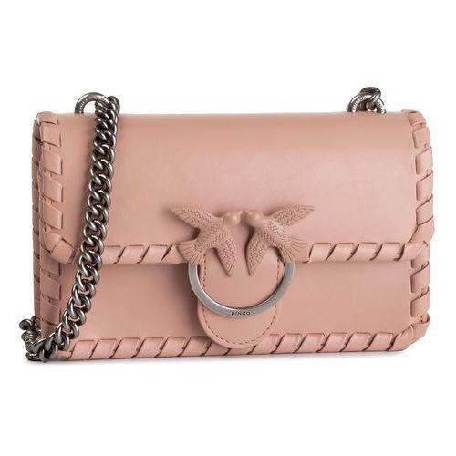 Torebka - mini love twist 1 ai 19-20 pltt 1p21e9 y5gb light pink q19 marki Pinko