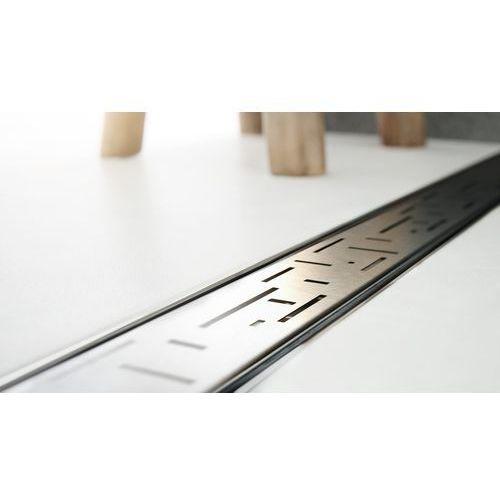 Odpływ liniowy ze stali nierdzewnej Skyline Lorac Tetris 80 cm