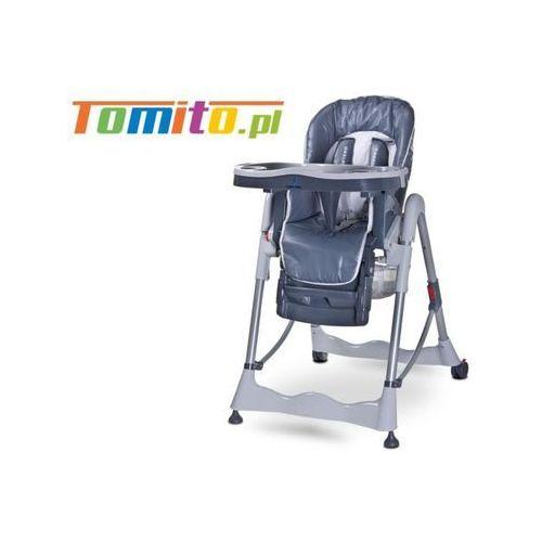 Wysokie krzesełko do karmienia Caretero Magnus Grey