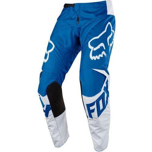 Fox spodnie cross 180 race niebieski, 32 (0884065737343)