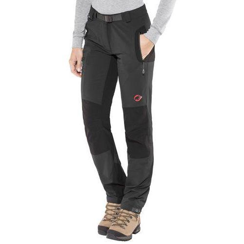 Mammut courmayeur so spodnie długie kobiety czarny de 36 (długie) 2018 spodnie softshell