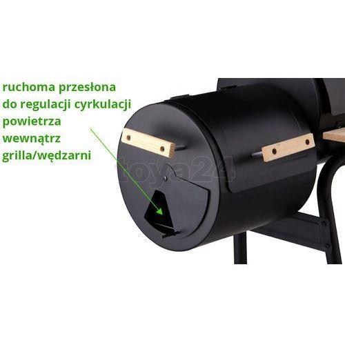 Toya Grill ogrodowy z wędzarnią, ruszt 60 cm (szer.) / 99513 / - zyskaj rabat 30 zł (5906083995132)