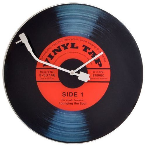 NeXtime - zegar ścienny Vinyl Tap