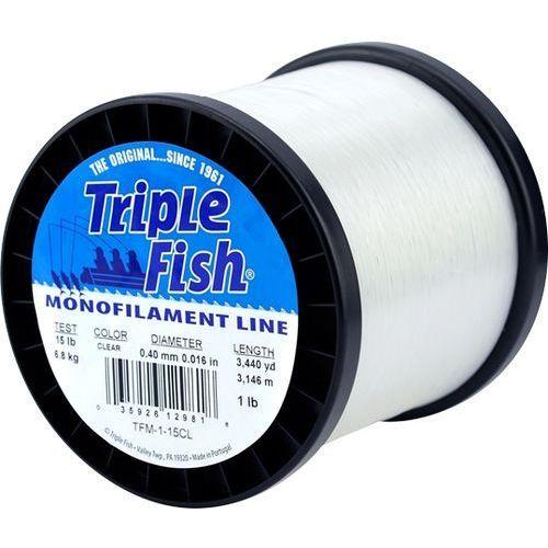 A.f.w. triple fish / 1957m / 0,50mm / 11,30kg / przeźroczysta marki A. f. w.