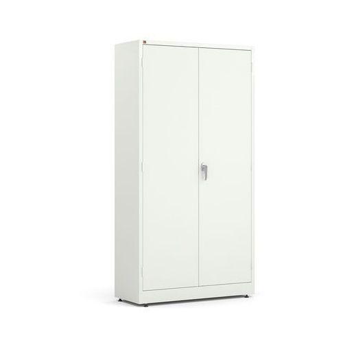 Metalowa szafa korpus: biały drzwi: biały marki Array