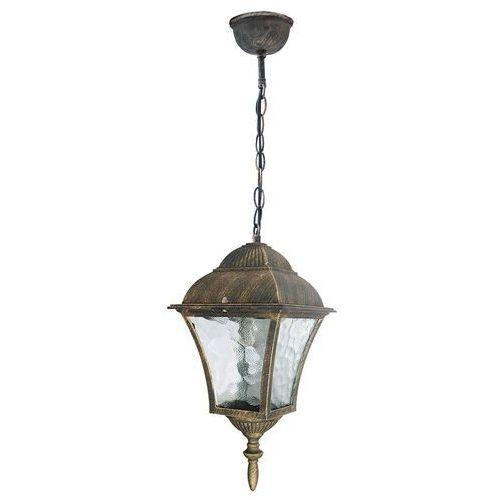 Lampa wisząca zewnętrzna Rabalux Toscana 1x60W E27 IP43 antyczne złoto 8394, 8394