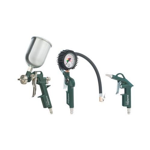 Metabo Zestaw narzędzi sprężonego powietrza lpz 4 set 601585000