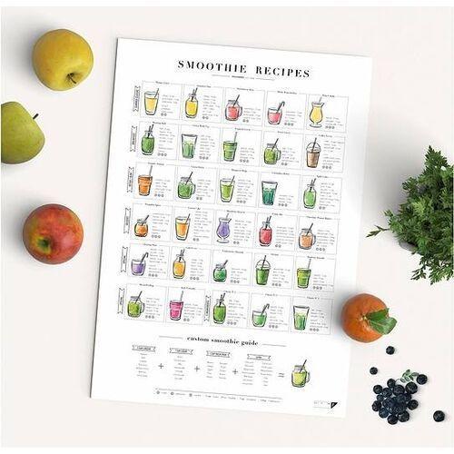 Plakat smoothie recipes a2 marki Follygraph