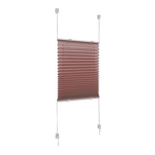 Plisa caprera 68 x 210 cm brązowa marki Colours