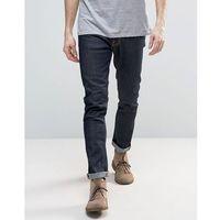 Nudie jeans lean dean slim tapered jeans dry 16 dips - navy