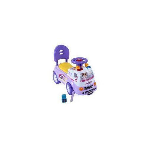 Jeździdło ambulans fioletowe Sun Baby 3657 (5907478643836)