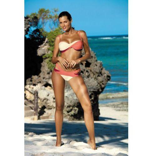 Kostium kąpielowy model olimpia semifreddo-vanilla-picadily m-438 coral/wanilia marki Marko