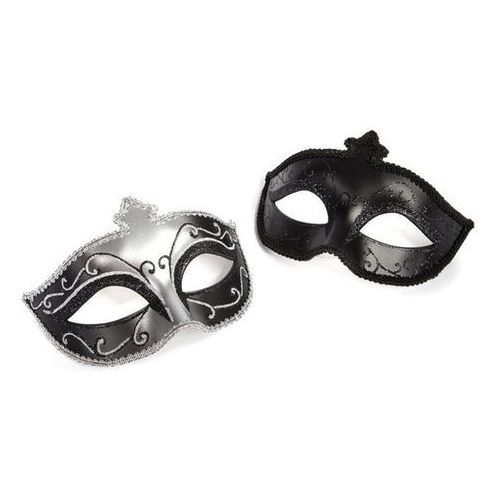 Fifty shades of grey - maska karnawałowa masquerade mask twin pack dwupak marki 50 shades of grey