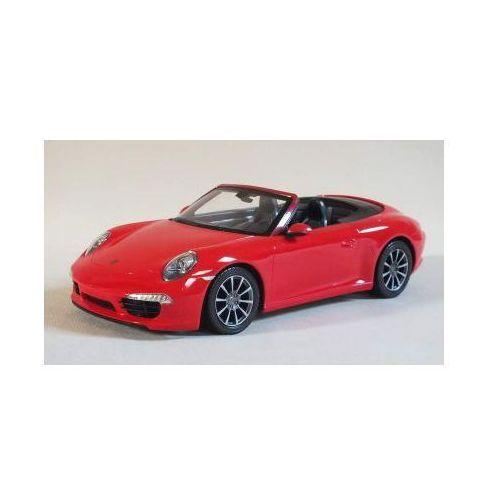 Duże Zdalnie Sterowane Porsche 911 Carrera S Cabrio (1:12) + Bezprzewodowy Pilot., 590777895424