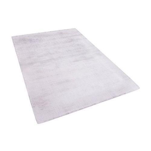 Dywan jasnoszary 140x200 cm krótkowłosy - chodnik - wiskoza - GESI (7105273601206)