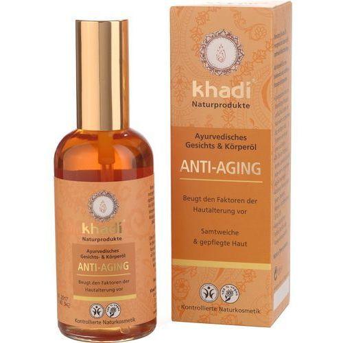 Ajurwedyjski olejek do twarzy i ciała przeciwzmarszczkowy 100ml Khadi