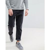 Weekday Vacant Cropped 60 Stone Jeans - Grey, jeansy
