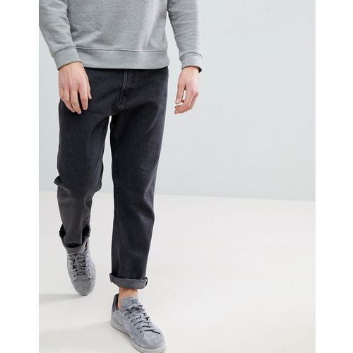 Weekday Vacant Cropped 60 Stone Jeans - Grey