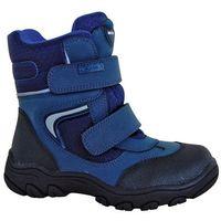 Protetika buty zimowe za kostkę chłopięce Torsten 30, niebieski (8585003418301)