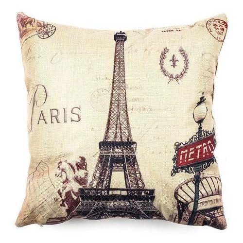 Jahu Powłoczka na jasiek Paris Eiffel metro, 45 x 45 cm, 45 x 45 cm